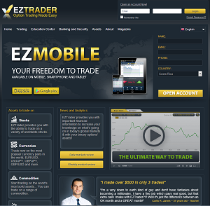 Review of the binary options broker EZTrader