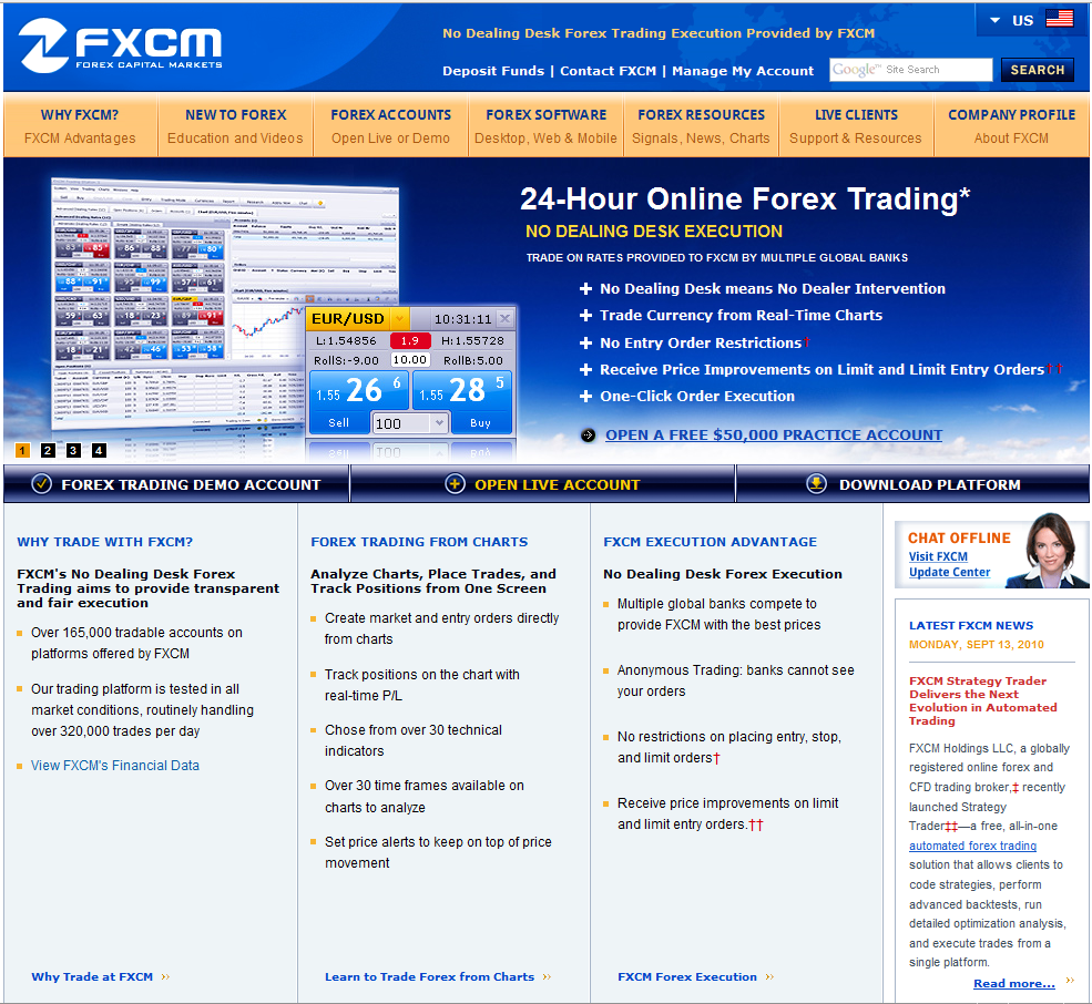 Forex or fxcm