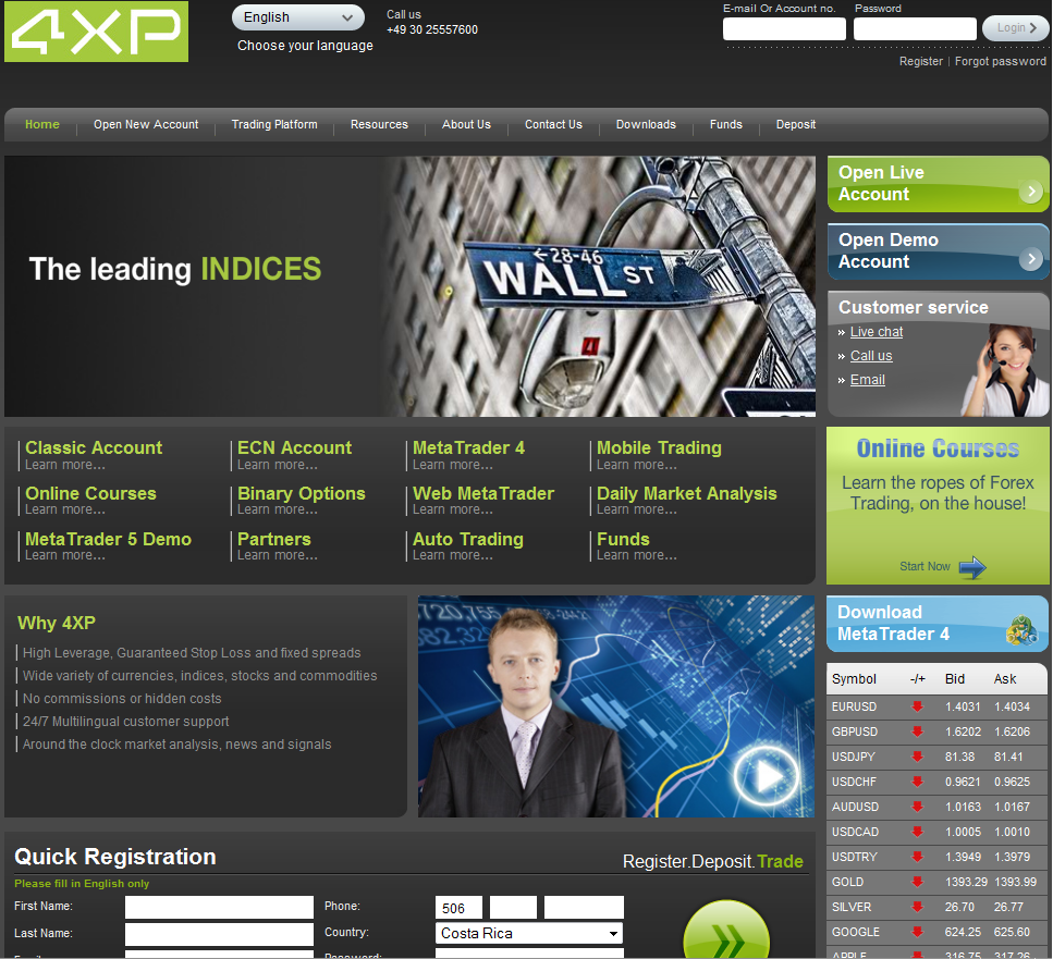 Forex place broker