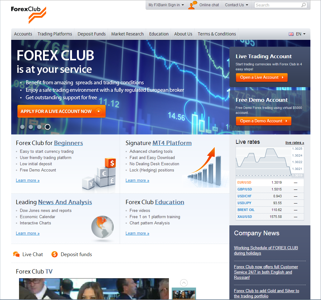 Forex club cfd