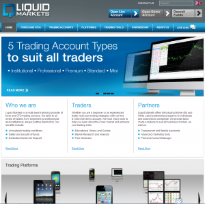 Regulated Forex broker Liquid Markets