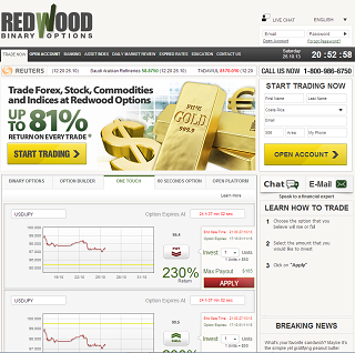 Is redwood binary options regulated