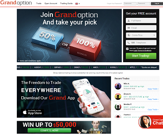 Option binary option broker review